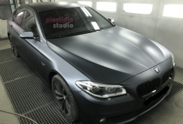 BMW 5er Black Graphite  plastidip