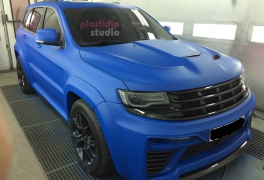 Jeep Grand Cherokee SRT8 синий мат plastidip