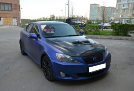 Lexus IS синий металик plastidip
