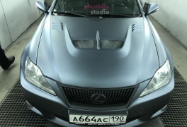 Lexus IS Black Graphite plastidip