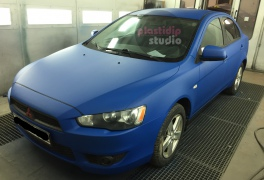 Mitsubishi Lancer  синий мат Flex Blue  plastidip