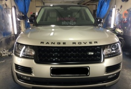 Range Rover Vogue антихром plastidip