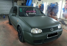 VW Golf 4 Camo Green в  plastidip