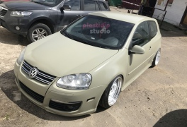 VW Golf Camo Tan plastidip