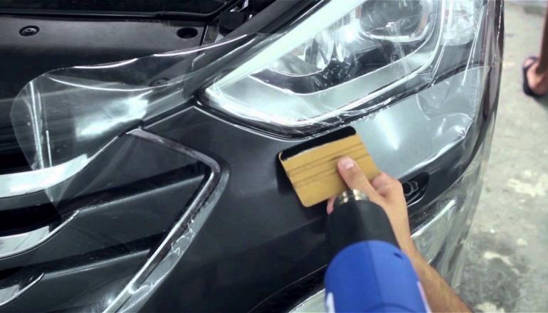 Бронь пленка для авто своими руками